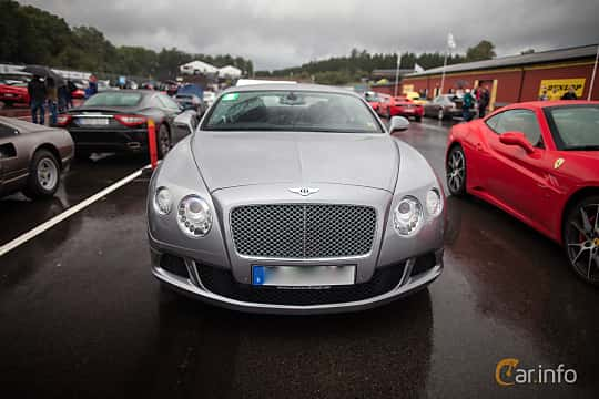 Front  of Bentley Continental GT 6.0 W12 Automatic, 575ps, 2012 at Autoropa Racing day Knutstorp 2015