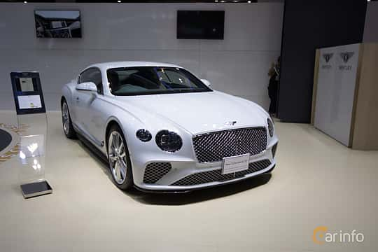 Front/Side  of Bentley Continental GT 6.0 W12 TSI DCT, 635ps, 2019 at Bangkok Motor Show 2019