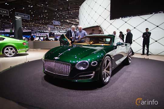 Bentley Exp 10 Speed 6 Concept Concept 2015