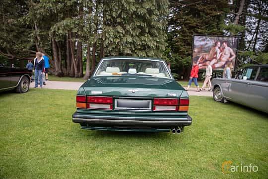 Back of Bentley Turbo R 6.75 V8 Automatic, 313ps, 1990 at Rolls-Royce och Bentley, Norrviken Båstad 2019