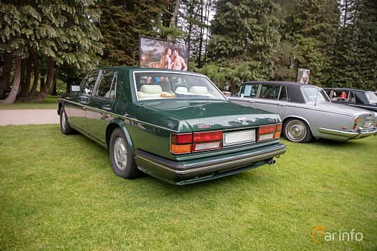 Back/Side of Bentley Turbo R 6.75 V8 Automatic, 313ps, 1990 at Rolls-Royce och Bentley, Norrviken Båstad 2019