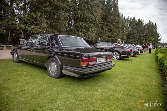 Back/Side of Bentley Turbo R 6.75 V8 Automatic, 313ps, 1989 at Rolls-Royce och Bentley, Norrviken Båstad 2019