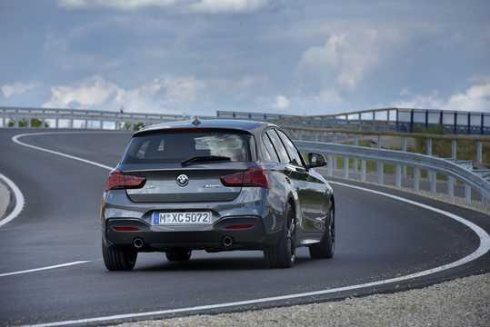 Back/Side of BMW M140i xDrive 5-door  Steptronic, 340hp, 2018