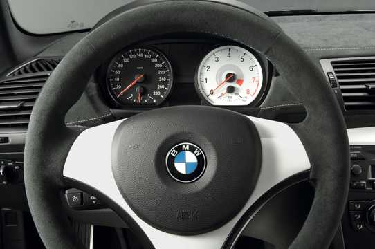 Interior of BMW 1 Series tii Concept Concept, 2007