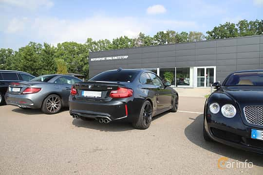Back/Side of BMW M2  Manual, 370ps, 2017 at Autoropa Racing day Knutstorp 2019