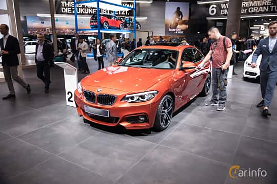 BMW 220d Coupe 20 Steptronic 190hp 2018