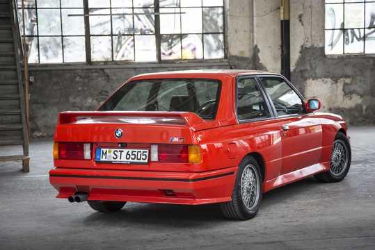Back/Side of BMW M3  Manual, 195hp, 1986