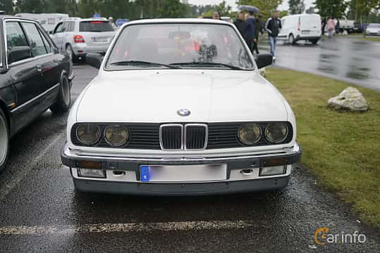 BMW 318i 2-door Sedan 1.8 Manual 102hp 1987 & BMW 3 Series 2-door Sedan E30/2 pezcame.com
