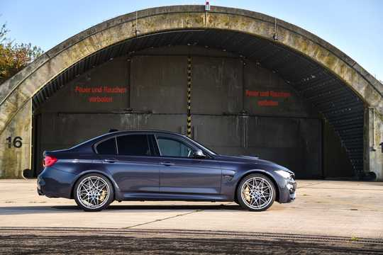 Side  of BMW M3  DCT, 431hp, 2017