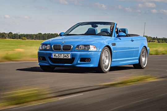 Front/Side  of BMW M3 Convertible  Manual, 343hp, 2002