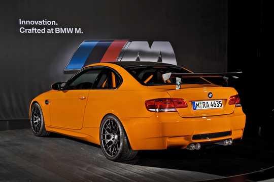 Back/Side of BMW M3 GTS  Drivelogic, 450hp, 2010
