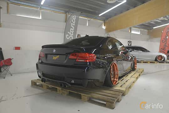 Back/Side of BMW M3 Coupé  Manual, 420ps, 2007 at Bilsport Performance & Custom Motor Show 2019