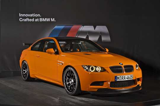 Front/Side  of BMW M3 GTS  Drivelogic, 450hp, 2010