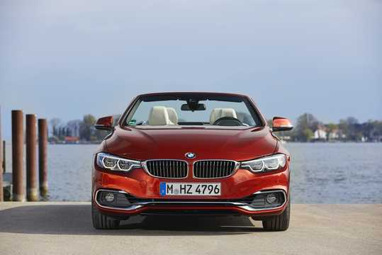 Front  of BMW 430i Convertible  Steptronic, 252hp, 2018