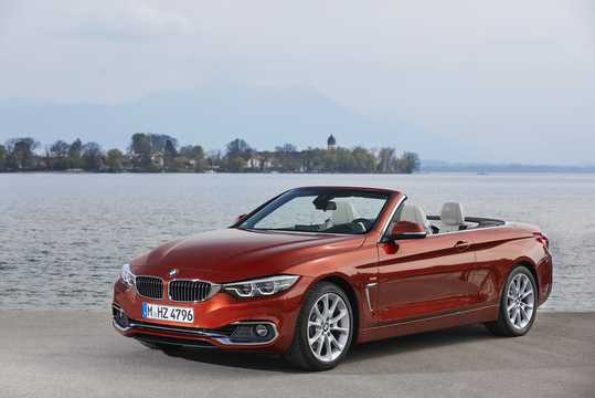Front/Side  of BMW 430i Convertible  Steptronic, 252hp, 2018