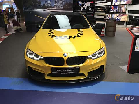 Fram av BMW M4 Competition Coupé  Drivelogic, 450ps, 2019