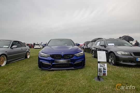 Front  of BMW M4 CS  Drivelogic, 460ps, 2018 at Vallåkraträffen 2019