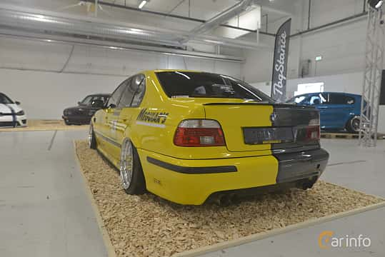 Back/Side of BMW M5 Sedan  Manual, 400ps, 2000 at Bilsport Performance & Custom Motor Show 2019