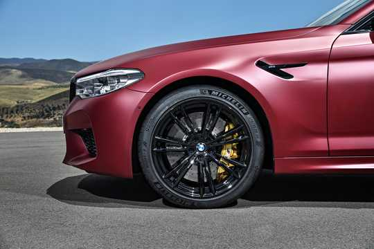 Close-up of BMW M5  Steptronic, 600hp, 2018