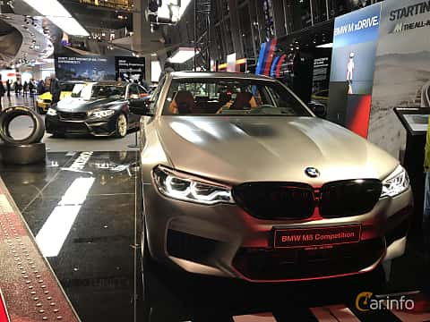 Fram av BMW M5 Competition  Steptronic, 625ps, 2019