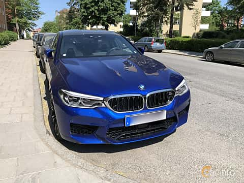 Front of BMW M5 4.4 V8 xDrive Steptronic, 600ps, 2018