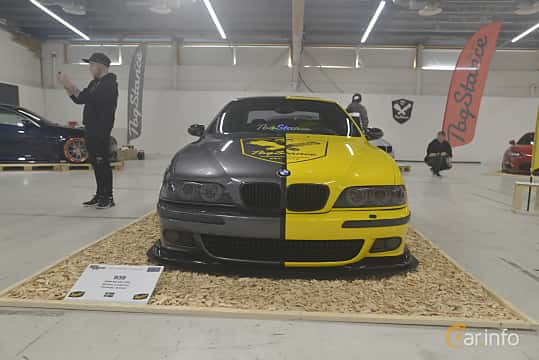 Front  of BMW M5 Sedan  Manual, 400ps, 2000 at Bilsport Performance & Custom Motor Show 2019