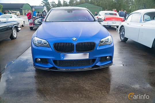 Front  of BMW 550i xDrive Sedan  Steptronic, 408ps, 2011 at Fly ´n´ Ride 2018