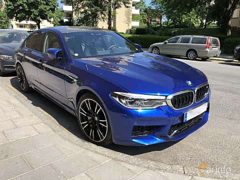 Front/Side of BMW M5 4.4 V8 xDrive Steptronic, 600ps, 2018