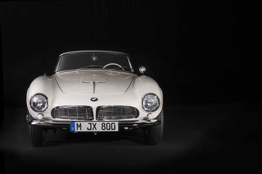 Front  of BMW 507 3.2 V8 Manual, 150hp, 1957