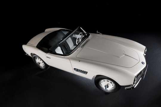 Front/Side  of BMW 507 3.2 V8 Manual, 150hp, 1957