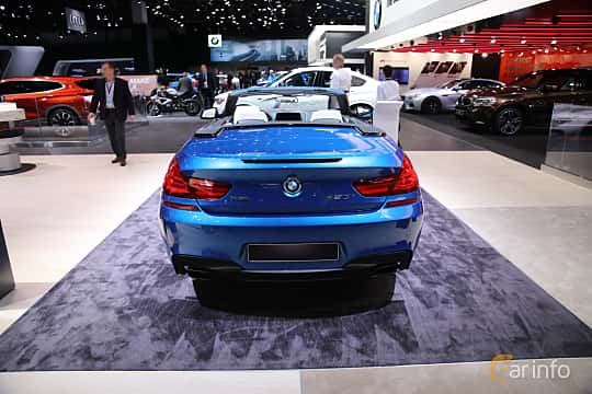 Bak av BMW 650i xDrive Convertible 4.4 V8 xDrive Steptronic, 450ps, 2017 på North American International Auto Show 2017