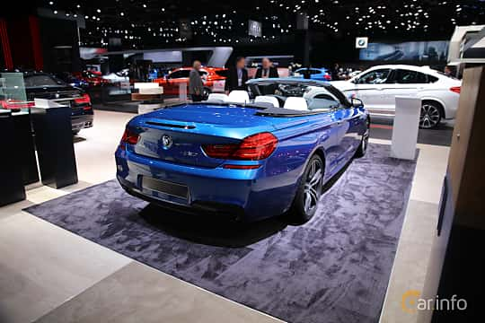 Bak/Sida av BMW 650i xDrive Convertible 4.4 V8 xDrive Steptronic, 450ps, 2017 på North American International Auto Show 2017