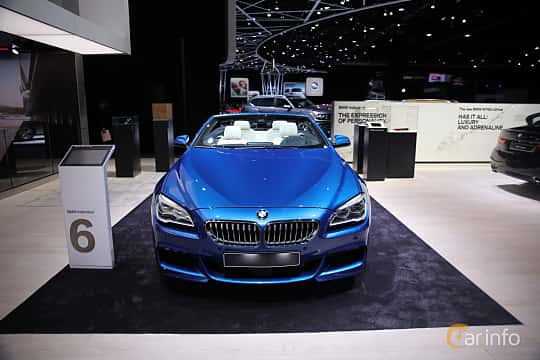 Fram av BMW 650i xDrive Convertible 4.4 V8 xDrive Steptronic, 450ps, 2017 på North American International Auto Show 2017