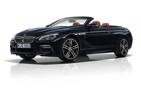 Front/Side  of BMW 6 Series Convertible 2017