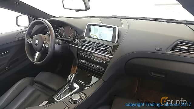 Interiör av BMW 640d xDrive Coupé 3.0 xDrive Steptronic, 313ps, 2015