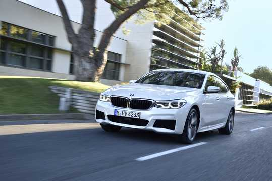 Front/Side  of BMW 640i Gran Turismo xDrive  Steptronic, 340hp, 2018