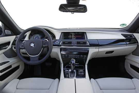 Interior of BMW 760Li  Steptronic, 544hp, 2012