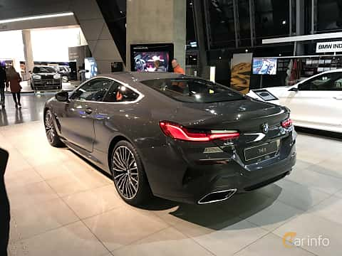 Bak/Sida av BMW 840d xDrive  Steptronic, 320ps, 2019