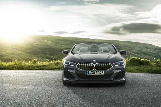 Front  of BMW M850i xDrive Convertible  Steptronic, 530hp, 2019
