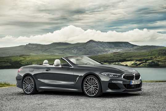 Front/Side  of BMW M850i xDrive Convertible  Steptronic, 530hp, 2019