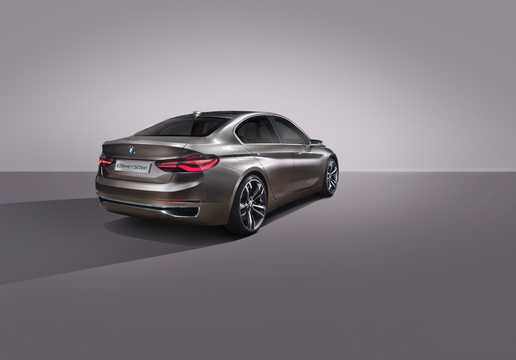 Back/Side of BMW Compact Sedan Concept Concept, 2015
