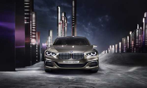 Front  of BMW Compact Sedan Concept Concept, 2015
