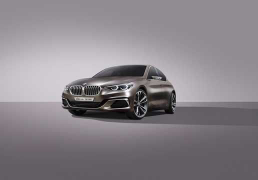 Front/Side  of BMW Compact Sedan Concept Concept, 2015