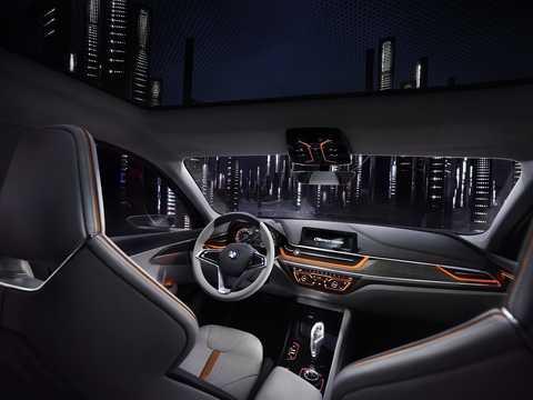 Interior of BMW Compact Sedan Concept Concept, 2015