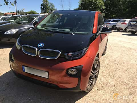 Front/Side  of BMW i3 0.6 + 22 kWh Automatic, 170ps, 2016