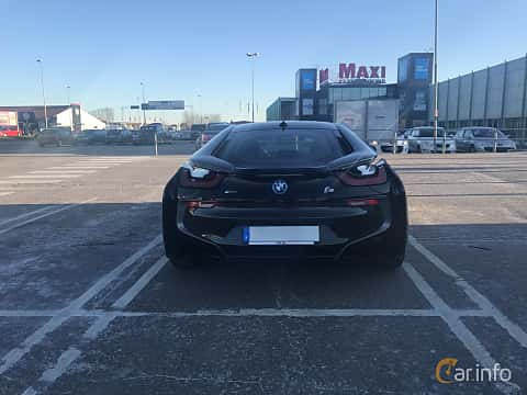 Bak av BMW i8 1.5 + 7.1 kWh Steptronic, 362ps, 2015