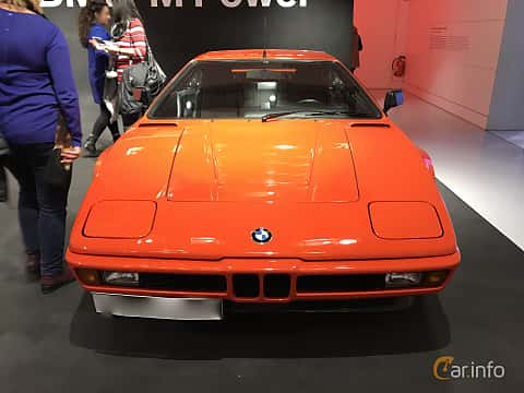 Fram av BMW M1 3.5 Manual, 277ps, 1979