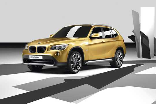 Front/Side  of BMW X1 Concept Concept, 2008