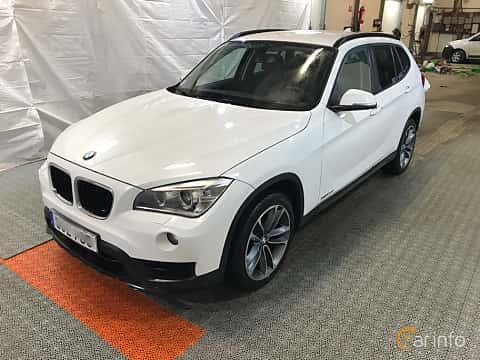 Fram/Sida av BMW X1 xDrive20d 2.0 xDrive Steptronic, 184ps, 2015