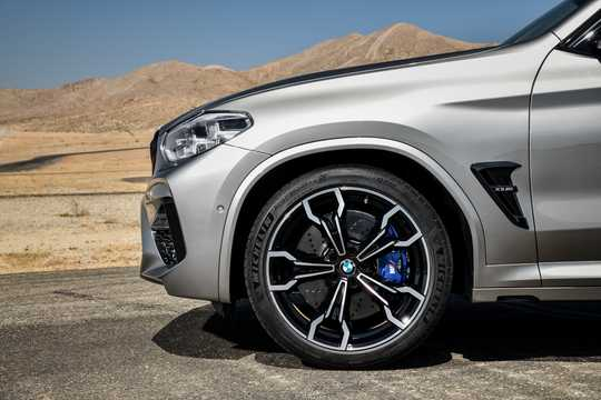 Close-up of BMW X3 M Competition  Steptronic, 510hp, 2019